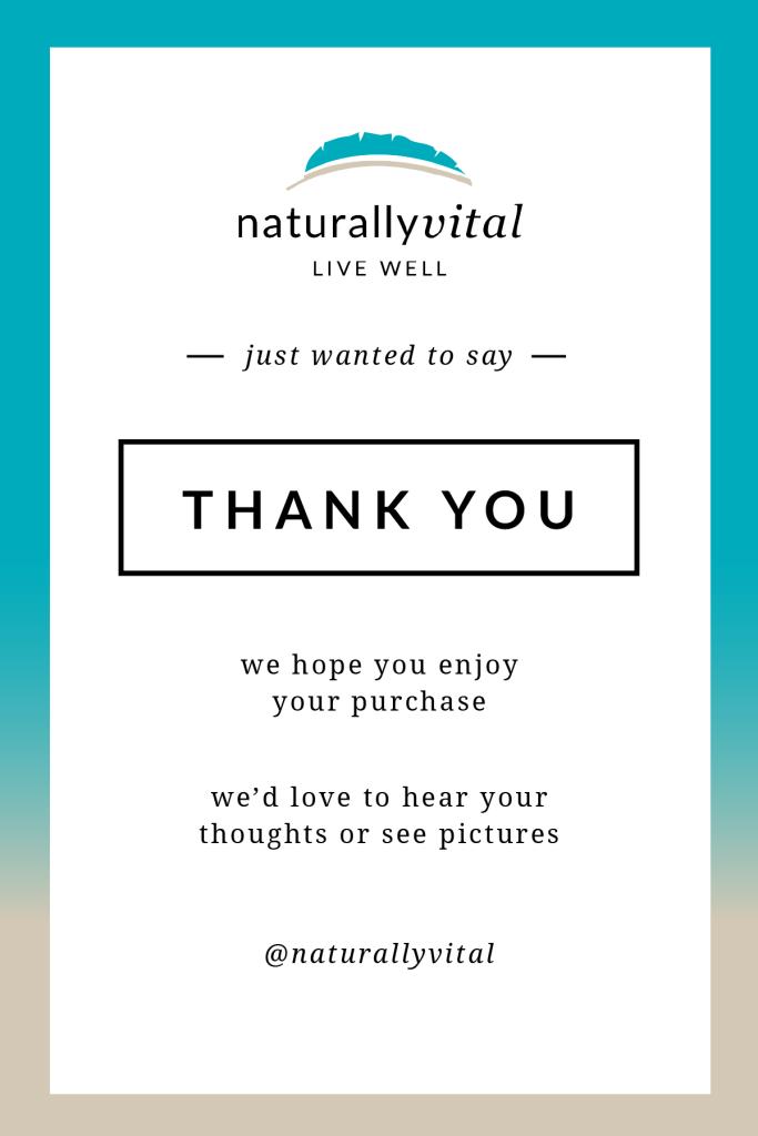 Naturally Vital Postcard