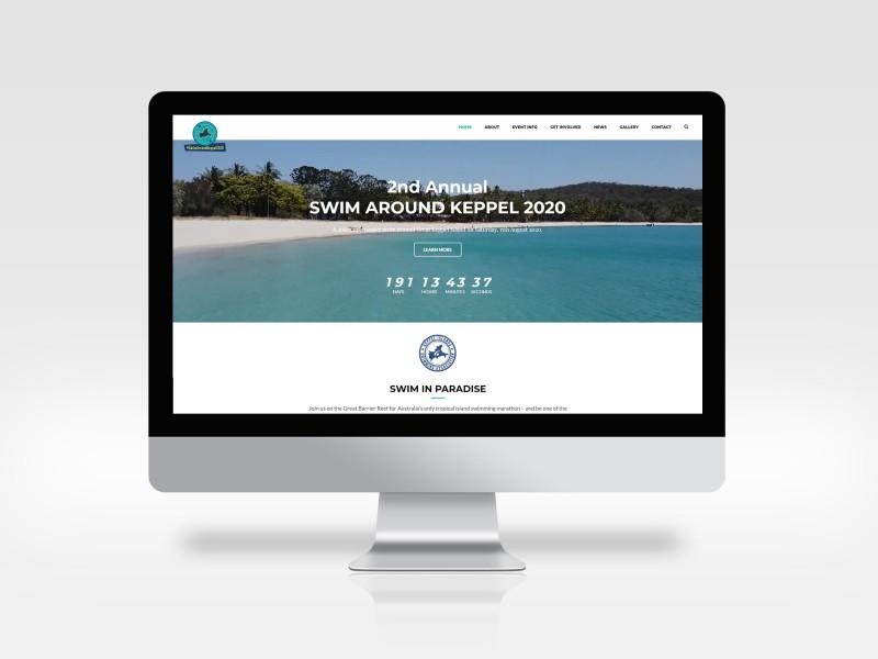 Swim Around Keppel Website Design